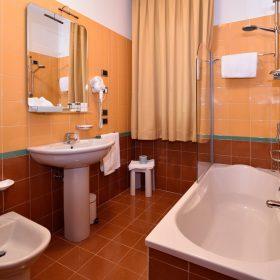 Bagno camera matrimoniale Prealpi Hotel San Vendemiano
