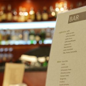 Listino prezzi del bar del prealpi hotel di san vendemiano